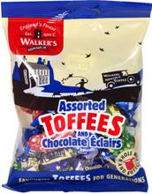 Walkers Assorted Toffees 150 gram
