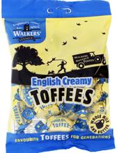 Walkers English Creamy Toffees 150 gram