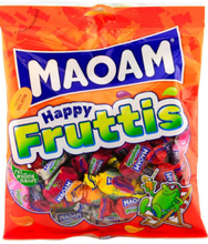 Haribo Maoam Happy Fruits - Karameller med Fruktsmak 140 gram