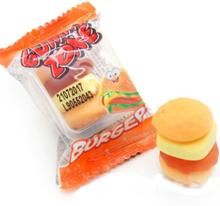 1 stk Gummi Zone Vingummi MINI Burger Glutenfri 9 gram