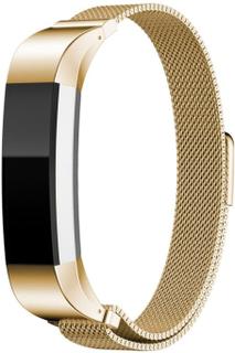 Fitbit Alta klokkereim av rustfritt stål m. magnet - Gull