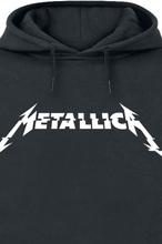 Metallica - Glitch Logo -Hettegenser - svart