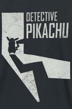 Pokemon - Meisterdetektiv Pikachu - Shadow -T-skjorte - svart