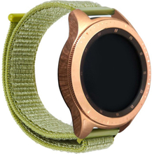 Samsung Galaxy Watch Active 20mm borrelås nylon watch band - Grønn