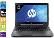 HP ZBook 15 G2 - 15,6 Zoll - Core i7-4800MQ @ 2,7 GHz - 16GB RAM - 250GB SSD - Nvidia Quadro K2100M - FHD (1920x1080) - Win10Pro