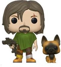 POP&Buddy: Walking Dead- Daryl mit Hund
