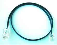 Telepatch cable black rj11-rj45 2m