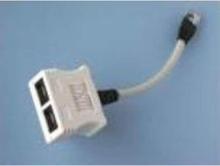 Adapter 100BASE-TX RJ45-2XRJ45