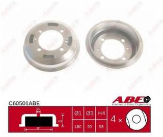 Bremsetrømmel ABE C60501ABE