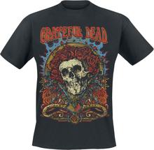 Grateful Dead - Dead Rose -T-skjorte - svart