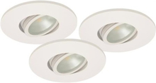 Malmbergs Downlightset MD-350 LED 230V Vit IP21