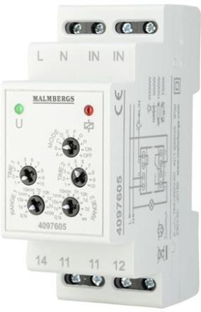 Malmbergs Multifunktionsrelä 230V