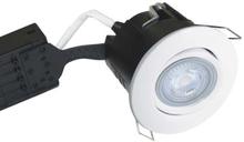 Nordtronic Uni Install 63 Rund Innbygningsspot utendørs 5W/830 LED GU10, Hvit