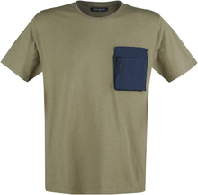 Shine Original - Patch Pocket Tee -T-skjorte - olivengrønn