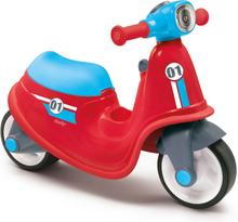 Smoby Balanscykel scooter röd och blå