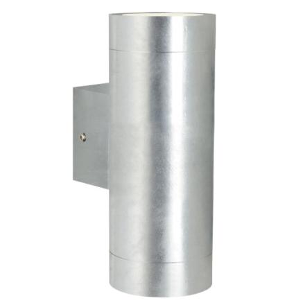 Nordlux Castor Maxi Dobbel Utendørs vegglampe LED 2x3W GU10, Galvanisert
