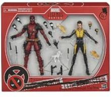 Hasbro Marvel Legends Series Deadpool und Negasonic Teenage Warhead Figuren