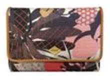 Oilily Damen Geldbörse S Wallet Charcoal (weiß schwarz Muster)