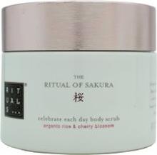 Rituals Sakura Celebrate Each Day Body Scrub Organic Rice & Cherry Blossom 375g