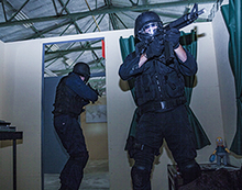 Paintball SWAT-Einsatz in Hagen