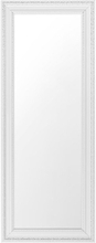 Spegel 50 x 130 cm vit/silver VERTOU