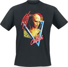 Wonder Woman - 1984 - Retro Cheetah -T-skjorte - svart