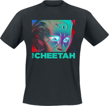 Wonder Woman - 1984 - The Cheetah Face -T-skjorte - svart