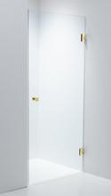 Duschbyggarna Duschvägg Swing Design-850-Vänster-Guld