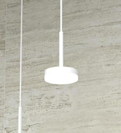 Dansani Jupiter pendel lampa, LED, 5,1W, Ø80 mm - Vit