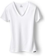T-Shirt Claudette in Weiss: die perfekte Passform