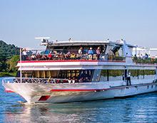 Donau Schifffahrt Passau - Wien fuer 2