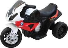 Elmotorcykel barn BMW S1000 röd tre hjul 6V