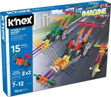 K'Nex, 33017 Power & Go Racers Building Set