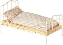 Maileg, Vintage bed, Mini - Off white