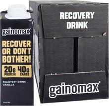"Hel Låda Proteindryck ""Recovery Vanilla"" 16 x 250ml - 55% rabatt"