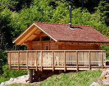 Kuschelnacht in der Blockhuette im Schwarzwald fuer 2