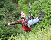 Ziplining und Adventure-Minigolf in der Vulkaneifel