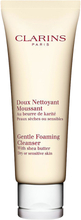 Clarins Gentle Foaming Cleanser, Dry/Sensitive Skin, 125ml Clarins Ansiktsrengöring