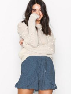 Glamorous Flounce Shorts Shorts Blue