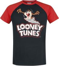 Looney Tunes - Tornado Taz -T-skjorte - svart, rød