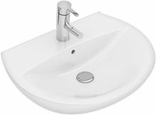 Ifö Tvättställ Spira 15162-med kranhål utan bräddavlopp