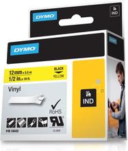 DYMO Rhino Professional pysyvä merkkausteippi vinyylitarra 12mm