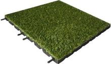 Kunstrasen Fallschutzmatten Fallschutzplatten