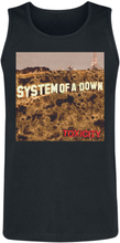 System Of A Down - Toxicity Cover -Tanktopp - svart