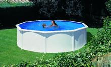 Stahlwandpool Schwimmbad 350cm