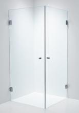 Duschbyggarna Duschvägg Twin Design-Krom-800x800