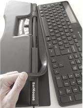 Tastatur Forhøjningsliste (430x25x7mm) med Klæb eller Magnet
