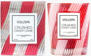 Voluspa Crushed Candy Cane Candle Duftlys