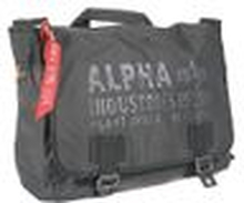 ALPHA Industries Cargo Oxford Courier Bag black
