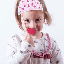 Princess Fun Pictures Accessories (paket med 12)